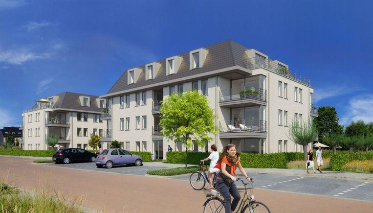Zo zal residentie Den Biezerd eruitzien. Tegen eind 2016 moet het project zijn opgeleverd en kunnen de bewoners er hun intrek nemen.
