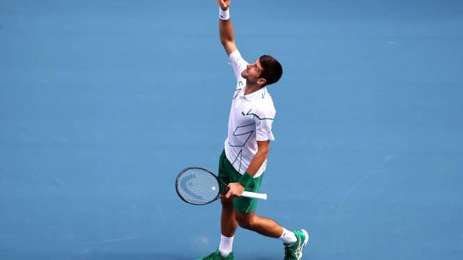 Federer en Djokovic stoten door naar kwartfinales Australian Open, 15-jarige Gauff is uitgeschakeld