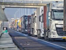 A58 Eindhoven richting Tilburg weer vrij na ongeluk bij Moergestel