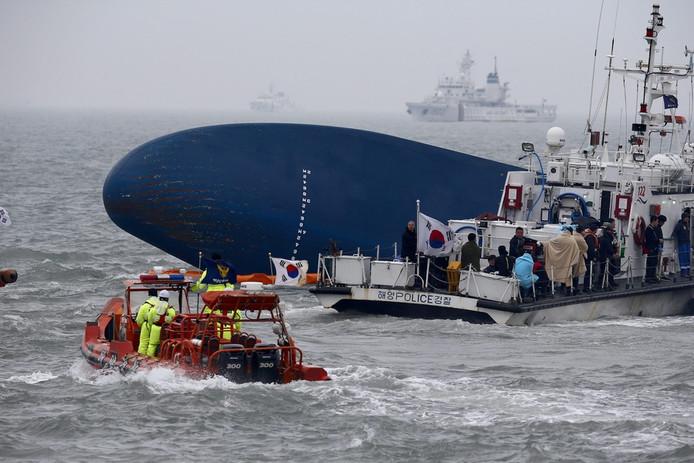 Zinkende veerboot Sewol