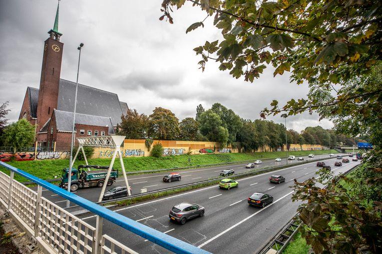 De A9 in Amstelveen. Beeld Raymond Rutting