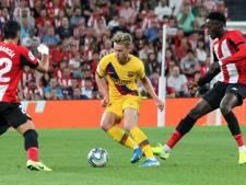 Valse start voor debuterende Frenkie de Jong bij Barça met uitnederlaag