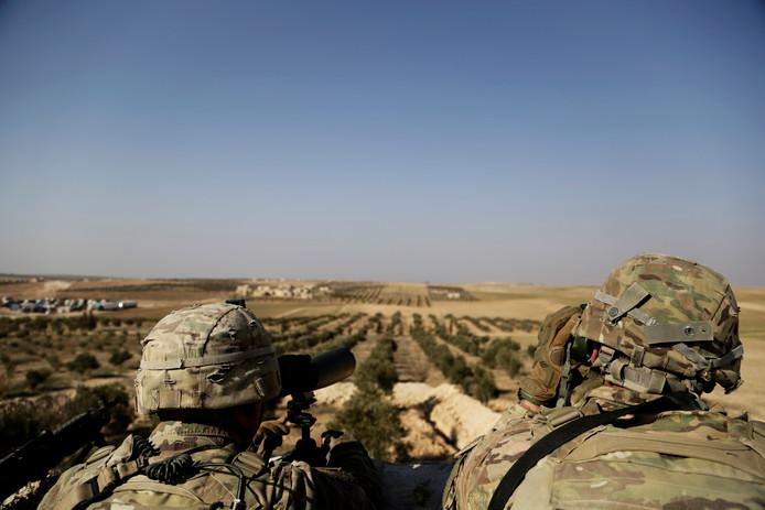 Amerikaanse troepen in Syrië
