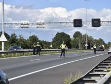 Gewonde door kop-staartbotsing op A27 bij Nieuwendijk