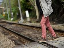 Levensgevaarlijk: kinderen op het spoor bij Bodegraven