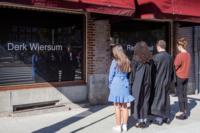 Advocaten herdenken collega Wiersum: 'Ik heb eigenlijk iedere dag aan hem gedacht'