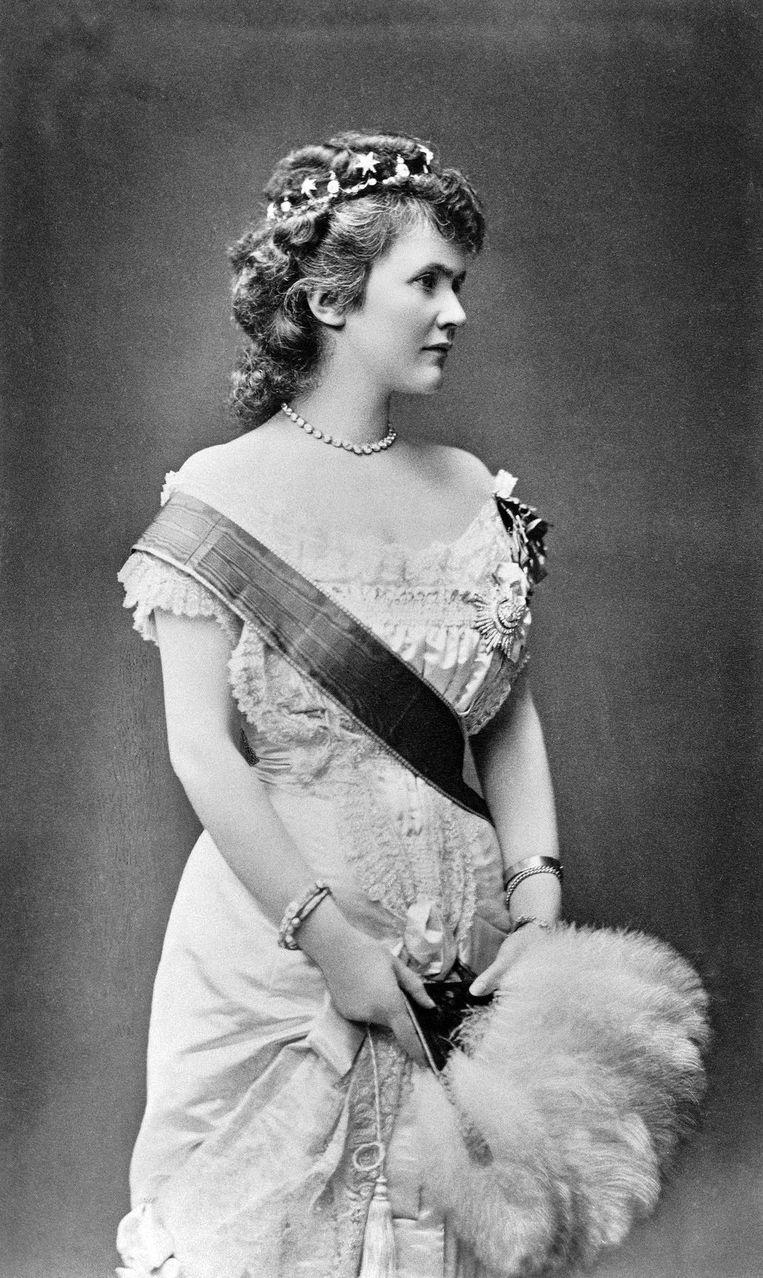 Carmen Sylva, pseudoniem voor de Roemeense koningin Elisabeth zu Wied.  Beeld