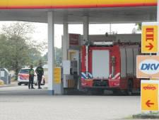 Tankstation op A1 bij Holten korte tijd ontruimd geweest