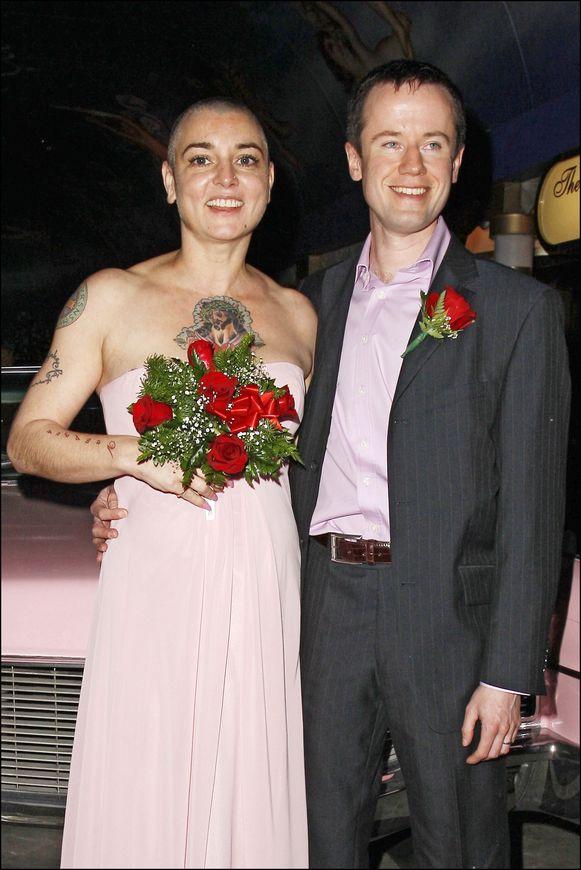 Sinead O'Connor en Barry Herridge zijn gescheiden na achttien dagen huwelijk.