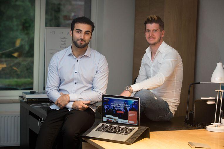 Mo en Wouter ontwikkelden where@ app