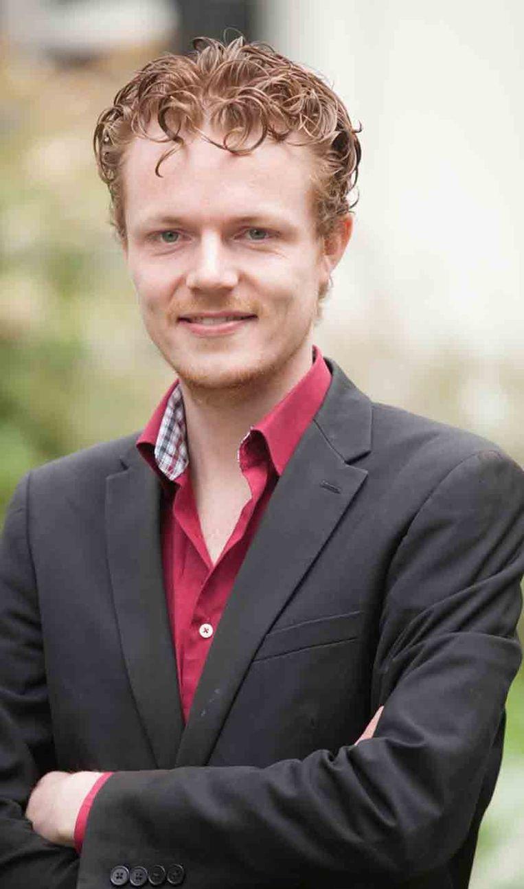 Tom Hoven, voorzitter van de Landelijke Studenten Vakbond Beeld null