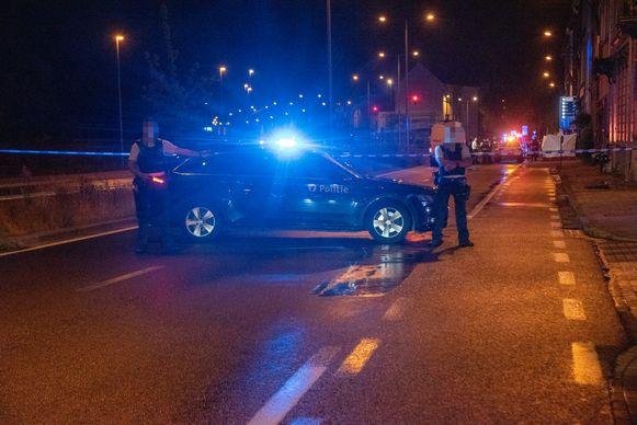 De man overleed op straat in de Kasteellaan in Gent.