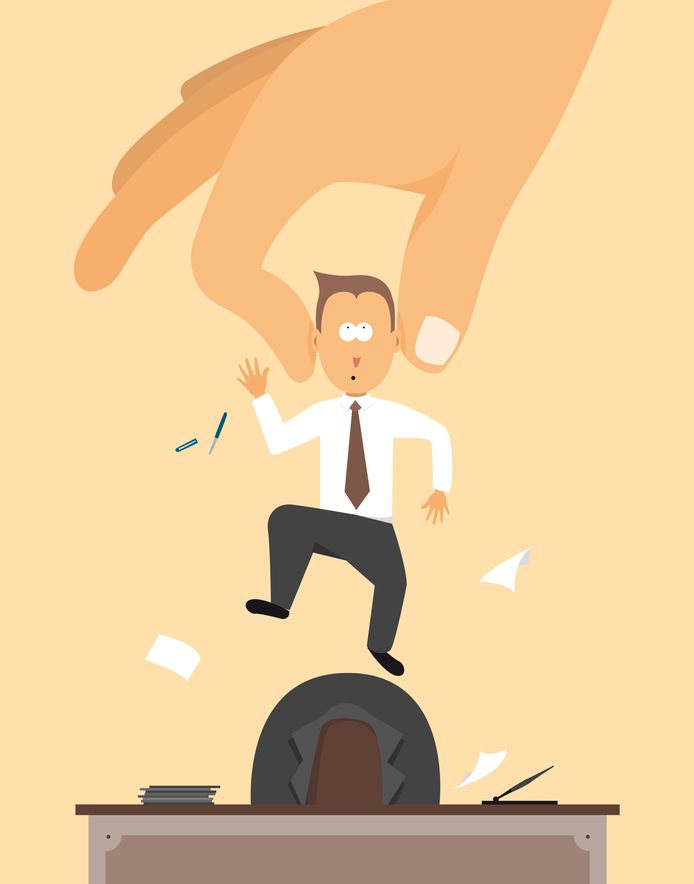 Sinds 2010, in slechts zeven jaar tijd dus, zijn er in totaal 125.000 managers verdwenen.