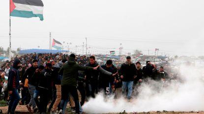 Duizenden inwoners Gazastrook betogen aan Israëlische grens: 4 doden en 250 gewonden