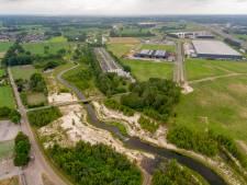 'Groene' schutting tussen Bornerbroek en XL Businesspark