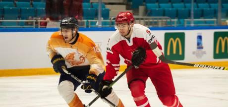 Nederlandse ijshockeyers hard onderuit in eerste duel van OKT in Kazachstan