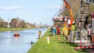 Zoekactie in kanaal Brussel-Charleroi: hulpdiensten vinden wagen met lichaam in
