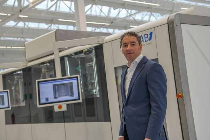 Topman en mede-oprichter Daan Kersten van Additive Industries