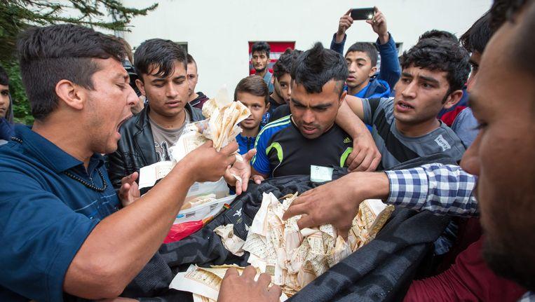 Bewoners van het centrum uiten hun ongenoegen over de versheurde koran.