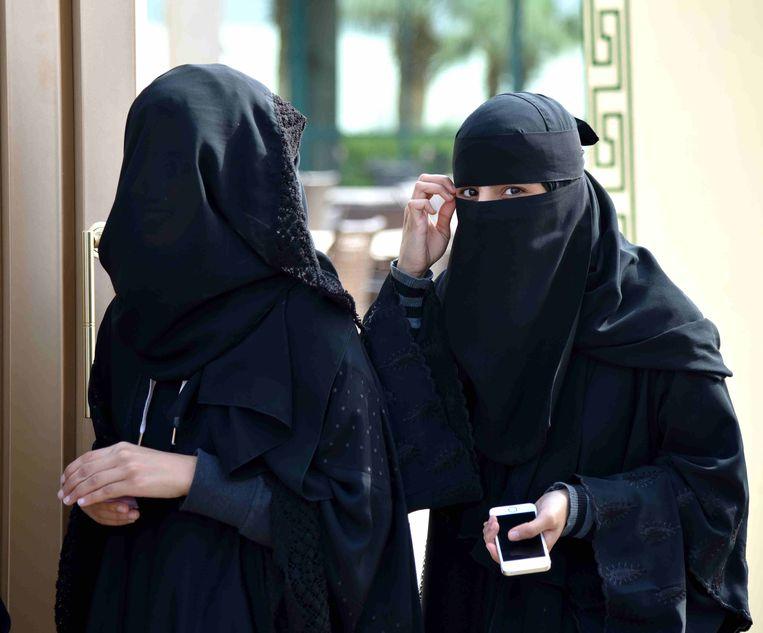 Saudische vrouwen mogen niet reizen zonder mannelijke voogd. Beeld Hollandse Hoogte