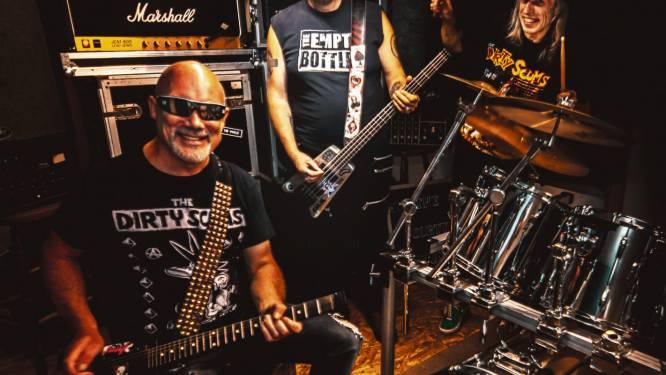 """Dirty Scums lanceren nieuw album 'Flashback to '77': """"Opnames tot drie keer toe uitgesteld"""""""
