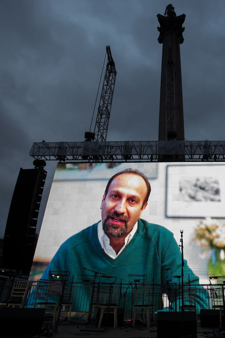 De Iraanse regisseur Asghar Farhadi. Beeld AFP