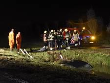 Auto te water in Zuilichem, bestuurder spoorloos