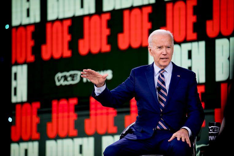 Joe Biden is voor de Democraten kandidaat om het tegen Trump op te nemen in november.