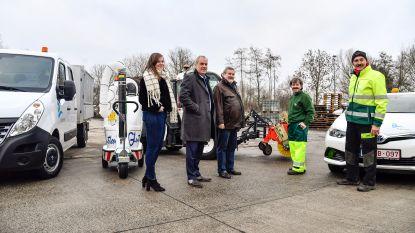 Gemeente investeert in nieuwe milieuvriendelijke voertuigen