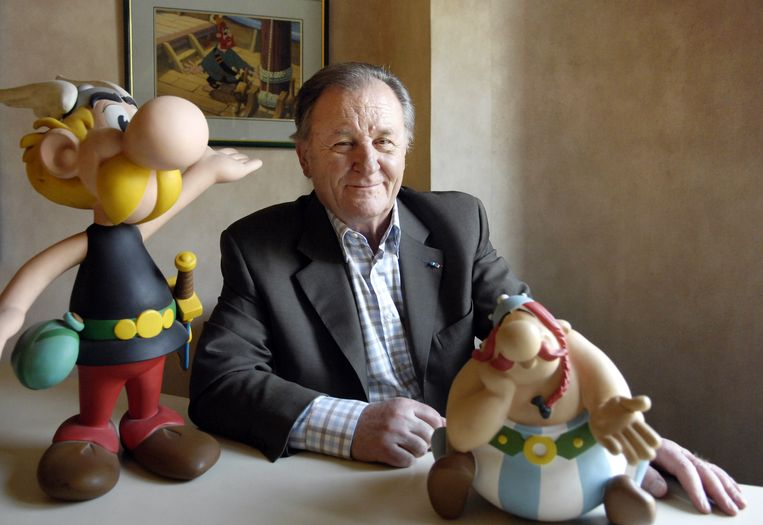 Albert Uderzo in 2007.