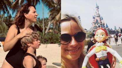 SHOWBITS. Siska Schoeters haalt trucje boven op Fiji en An Lemmens in tranen in Disneyland