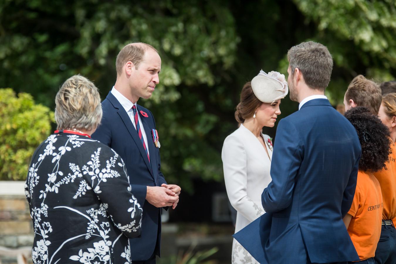 Prins William en zijn vrouw Kate.