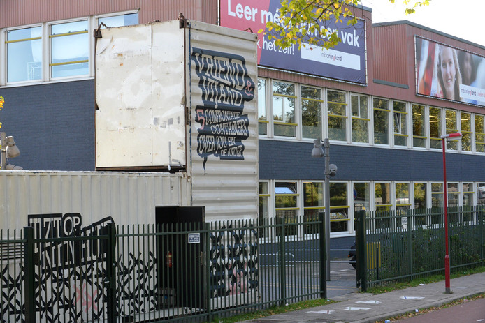 Het mbo Rijnland, waar de overleden Zoetermeerder (18) op school zat.