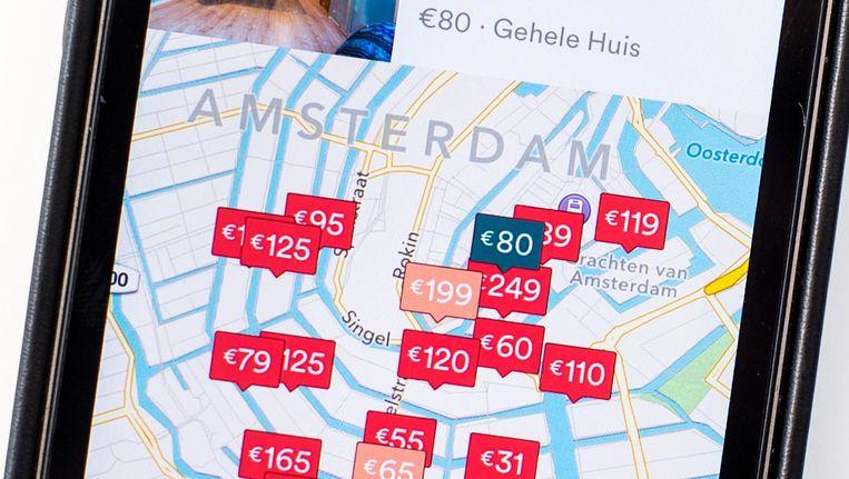 Overtreding van de Airbnb-regels kan 297.000 euro boete opleveren Beeld anp