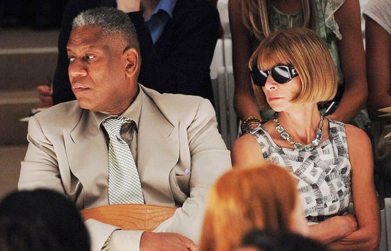 Andre Leon Talley met Anna Wintour