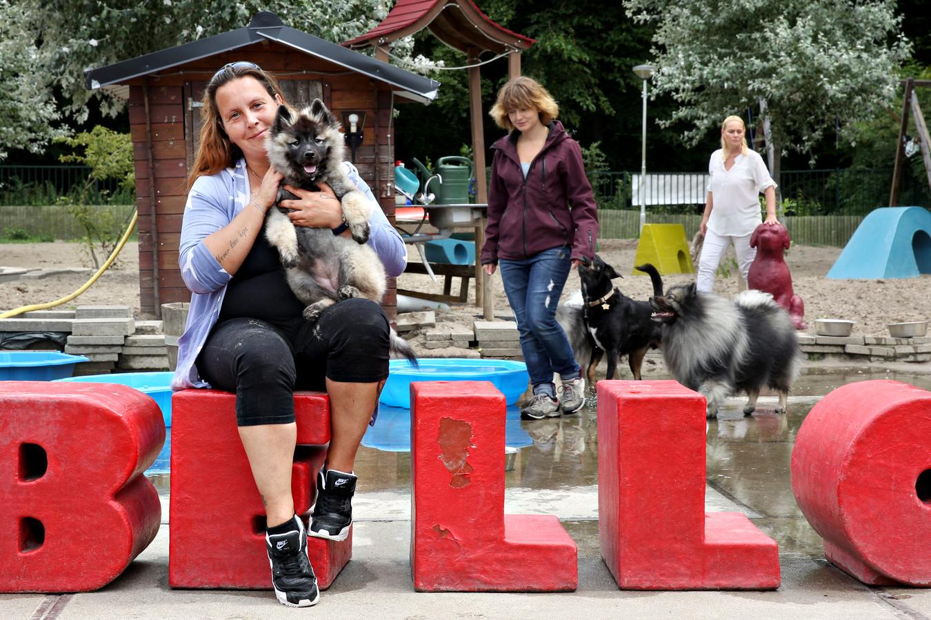 Annemiek Mans opent een hondendagopvang. Foto Sanne Donders
