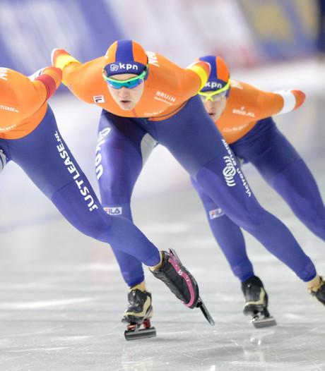 Oranjevrouwen maken flater goed en plaatsen zich voor ploegenachtervolging Spelen