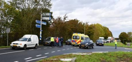 Twee gewonden bij aanrijding in Yerseke