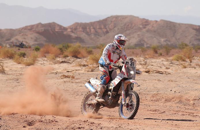 Jurgen van den Goorbergh tijdens de Dakar Rally 2017