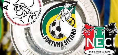 LIVE: Jong Ajax kan geschiedenis schrijven, NEC en Fortuna gaan voor promotie