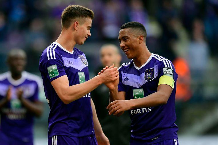 De twee Anderlecht-youngsters bezorgden paars-wit vorig jaar de landstitel.