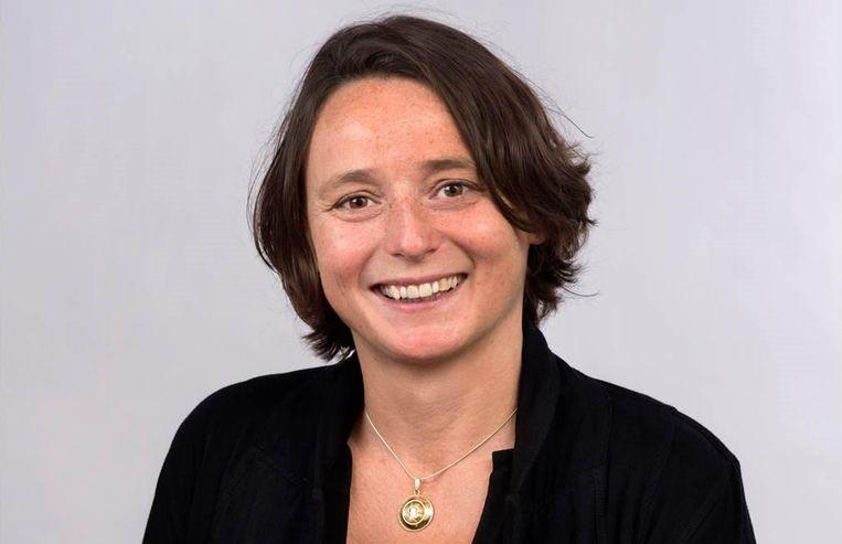Alicia Schrikker, historicus, docent en onderzoeker aan de Universiteit Leiden. Beeld