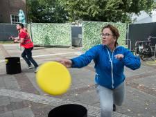 KanJam Frisbee tijdens Olster Feest; 'geen weggegooide middag'
