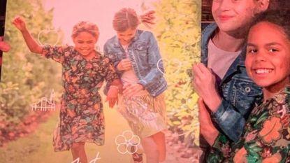 Achtjarige Amani Vautmans siert cover van gloednieuwe Truiense toeristische gids
