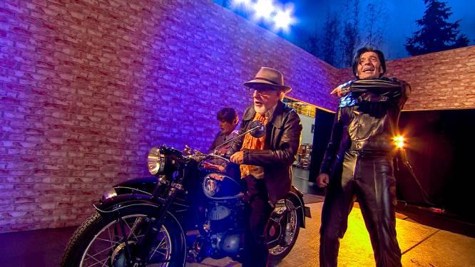 Oeps: Jean Blaute en Carry Goossens breken decor bijna af in 'Wat een jaar!'