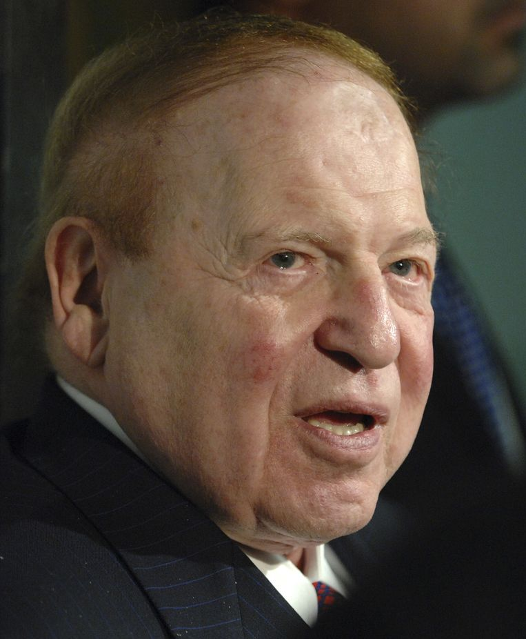 Casino-tycoon Sheldon Adelson