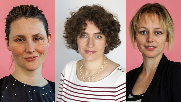 Linda Vermaat, Sara Polak en Laura Doorneweerd.