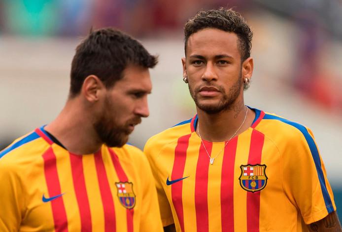 Lionel Messi et Neymar