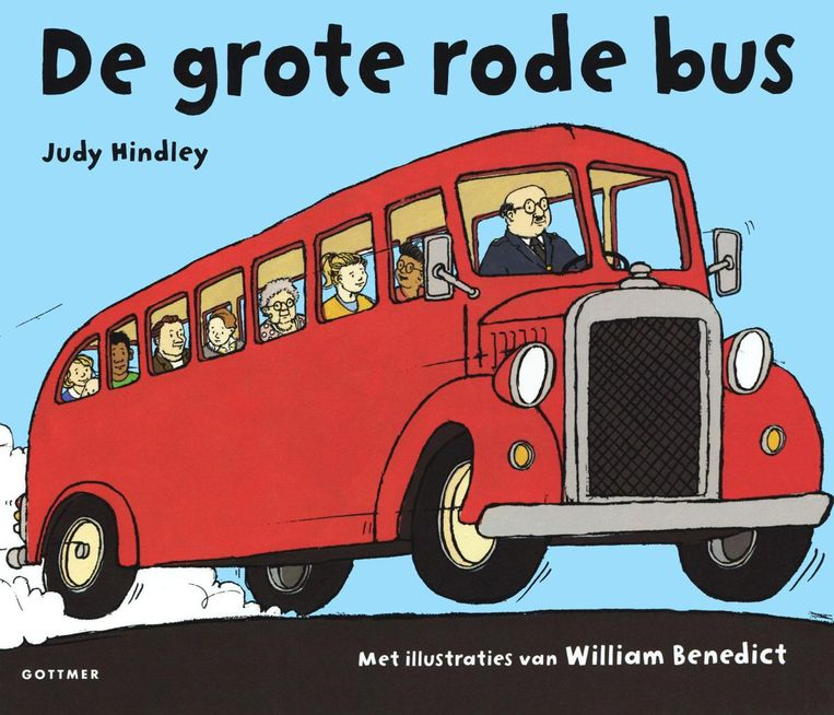 Judy Hindley: De grote rode bus Beeld null