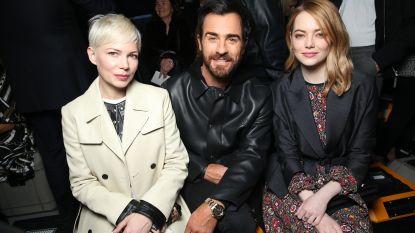 Emma Stone, Michelle Williams en meer sterren op de eerste rij bij Louis Vuitton